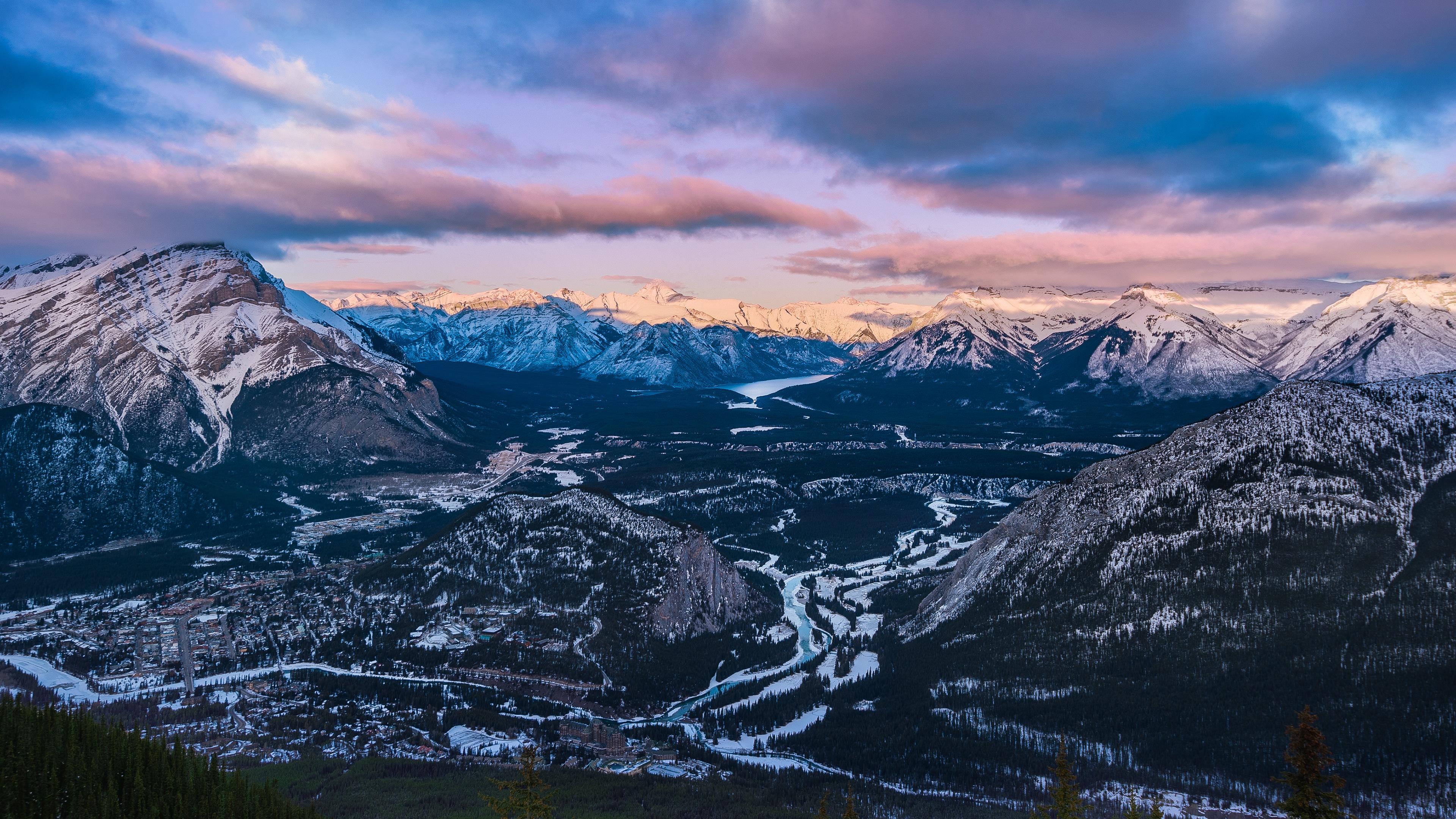 Hình nền \u2013 Mùa đông tại thung lũng Sulphur