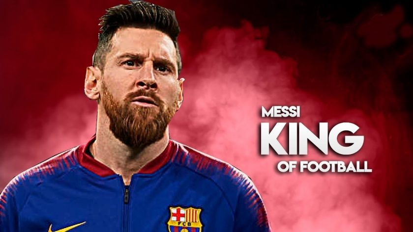 Messi king of Football