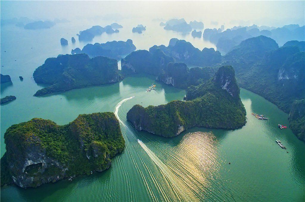Vinh Ha Long - diem den dep top Viet Nam