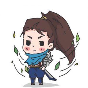 ảnh avatar đẹp độc đáo của Yasuo