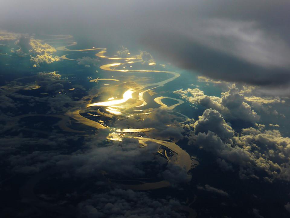 canh hoang hon dep nhat the gioi - rung Amazon