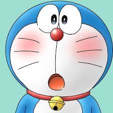 Anh dai dien dep de thuong meo may Doraemon ngai ngung