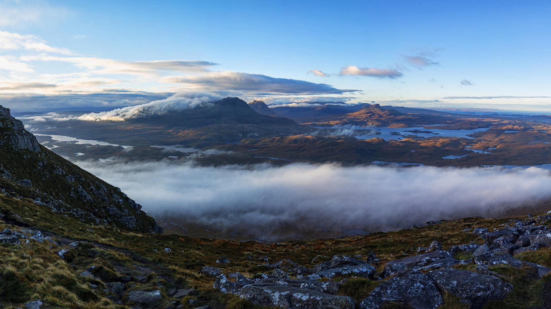 Hinh nen phong canh tuyet dep cua vung Torridon - Scotland