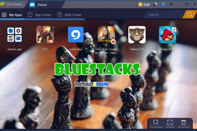 Tai BlueStacks - gia lap Android
