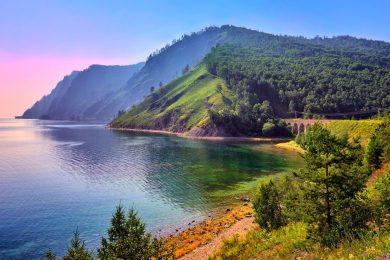 Ve dep ho Baikal nuoc Nga