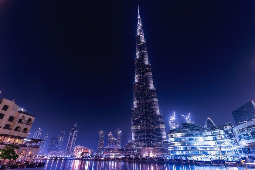 hinh anh thanh pho Dubai sieu hien dai hao nhoang