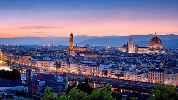 thanh pho Firenze nuoc Italia
