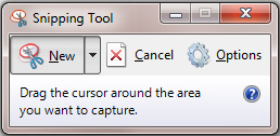 Snipping tool tren windows 7