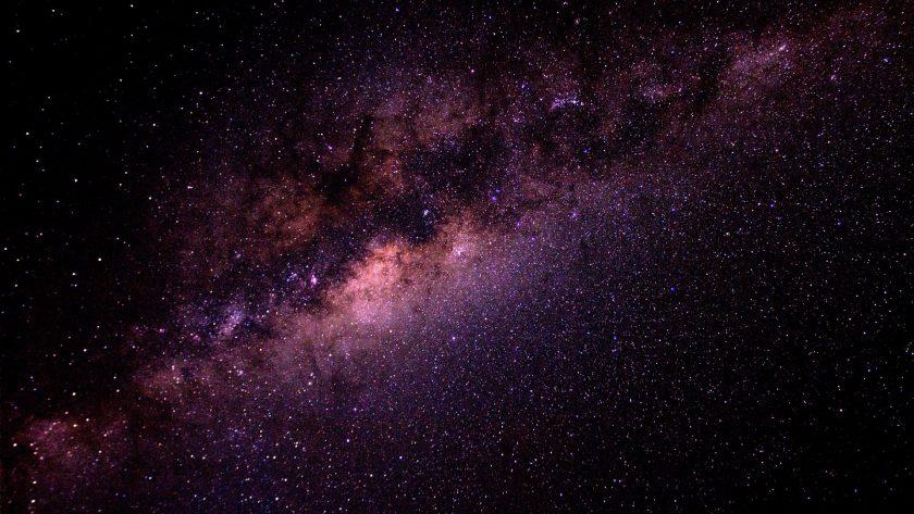 Ảnh chụp trung tâm dải ngân hà