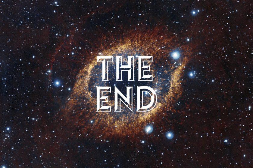 ảnh kết thúc slide về khoa học vũ trụ