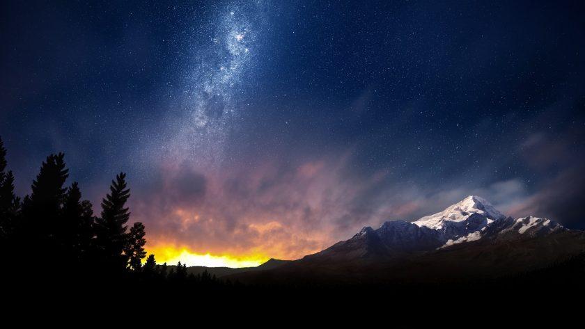 Hinh anh thien ha Milky Way dep