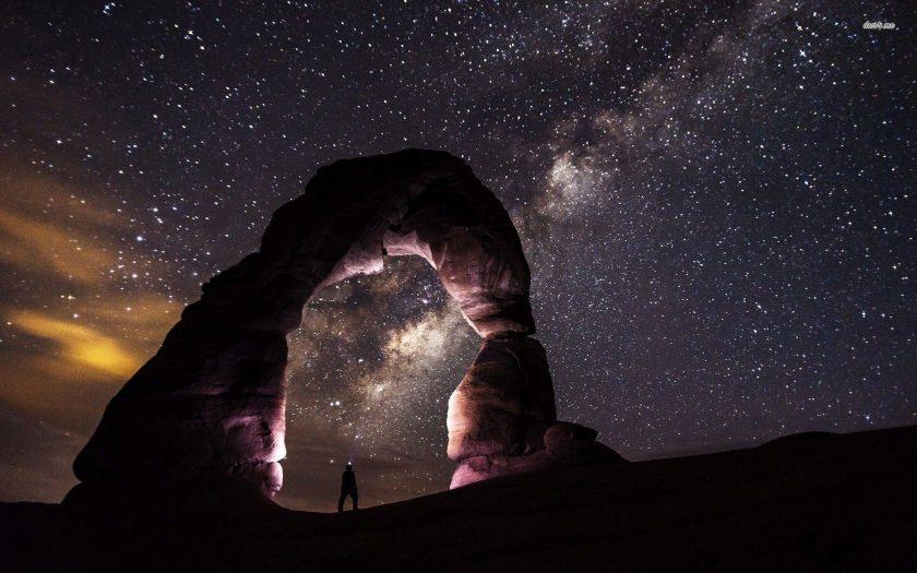 tai hinh nen thien ha Milky Way