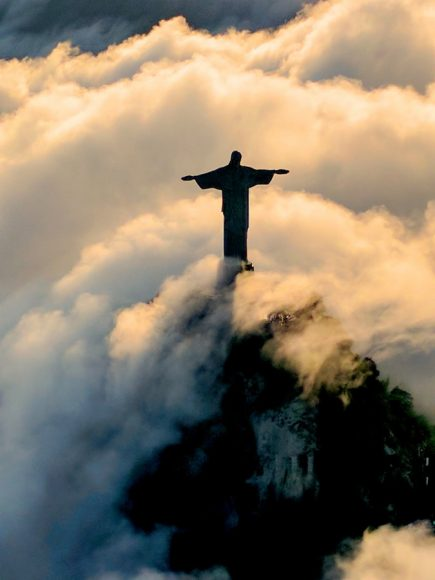 Hinh anh tuong chua Jesus tai Brazil