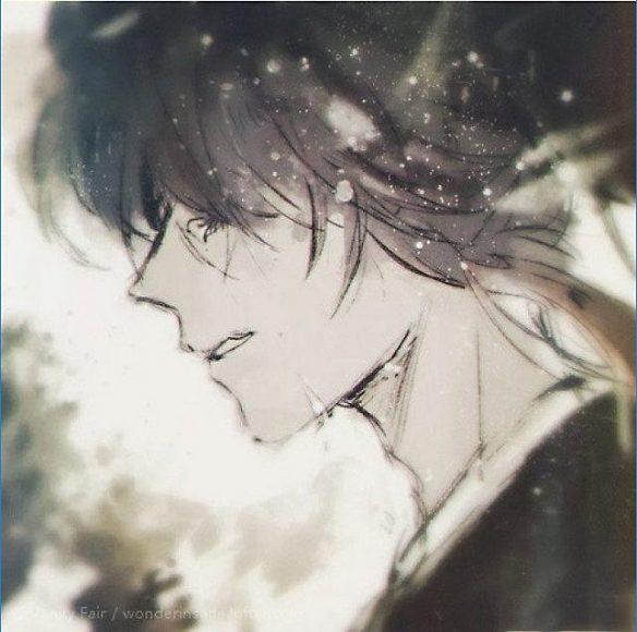 ảnh anime nam buồn