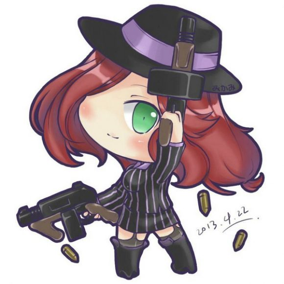 anh chibi lol Miss Fortune