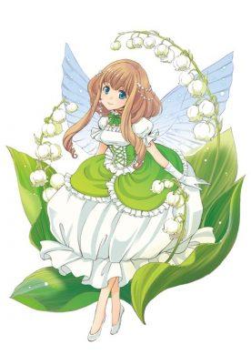 anime chibi thiên sứ của tự nhiên