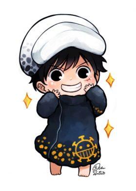hinh boy chibi dep lam avatar