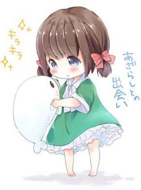 hinh anime chibi girl xionh dep dang yeu