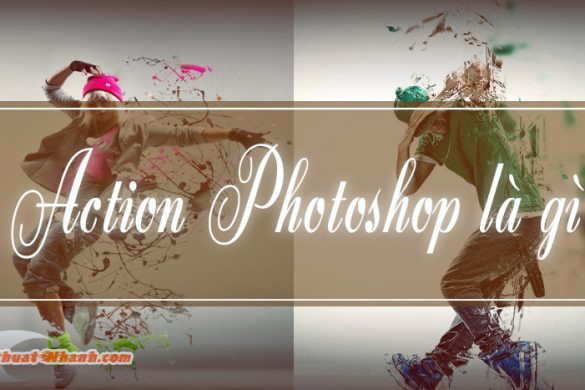 cach dung action trong photoshop