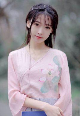 anh girl xinh co trang Trung Quoc