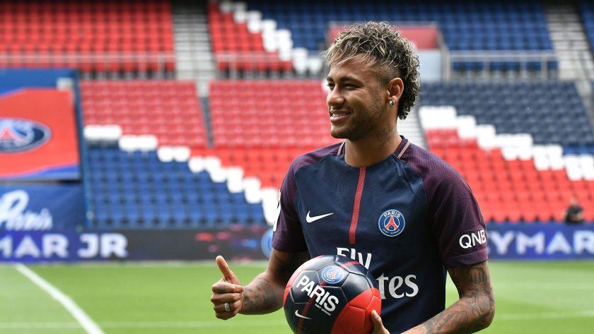 Neymar jr ra mat PSG