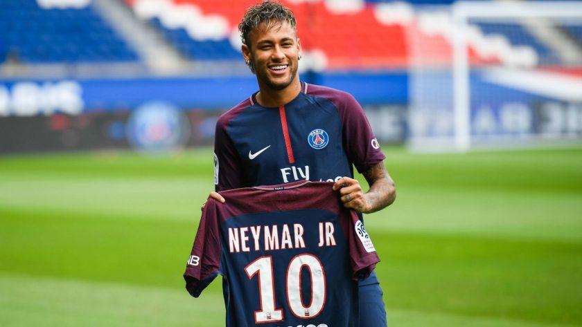 Hinh anh Neymar vs PSG