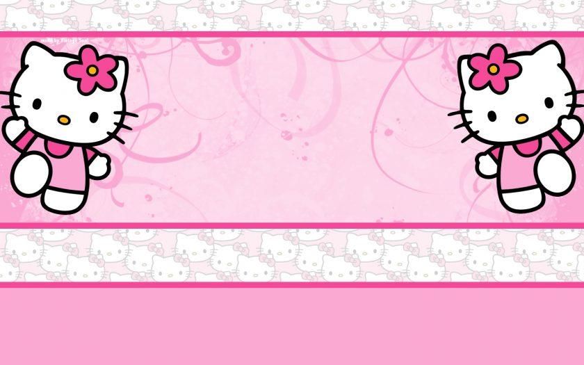 Ảnh slider powerpoint mèo Hello Kitty
