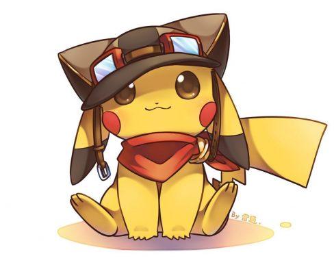avatar pikachu dễ thương