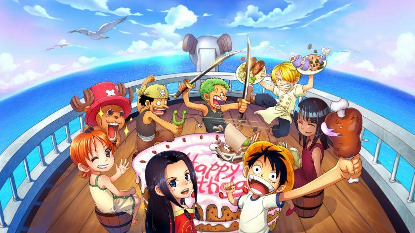 Happy Birthday anime One Piece