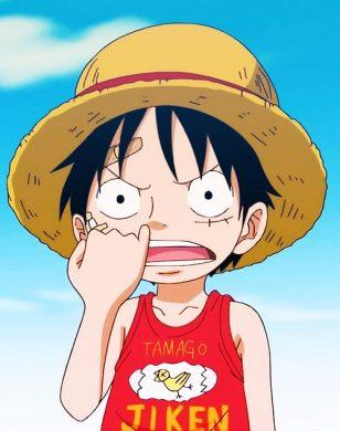 hinh Luffy dep