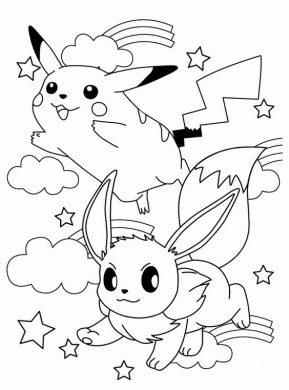 hinh anh pikachu va akanai tinh nghich
