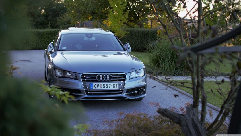 hinh anh xe Audi sang trong