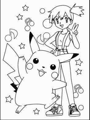 hinh pokemon pikachu dang yeu