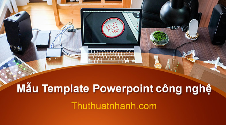 mau template powerpoint cong nghe