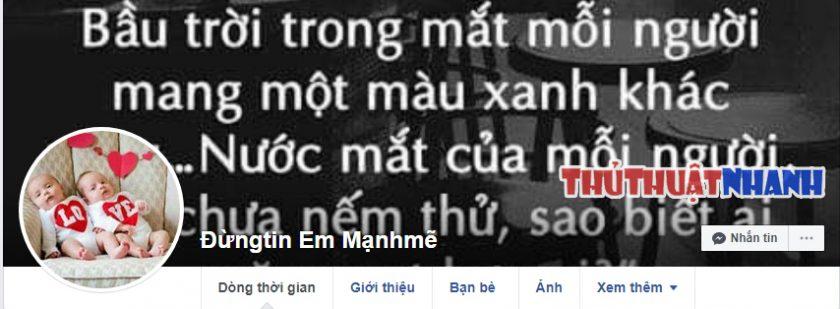 ten nick facebook ngan buon tam trang