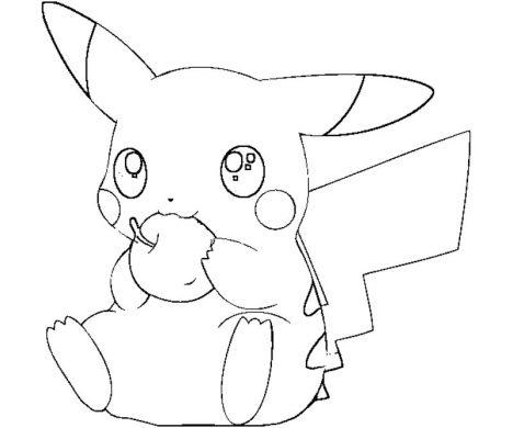 tranh to mau Pikachu an tao
