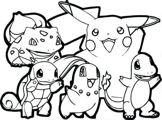 Tổng hợp tranh tô màu Pokemon và Pikachu đẹp nhất.