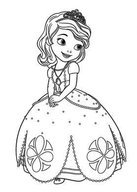 tranh to mau cong chua Elsa