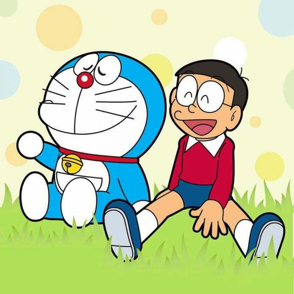 anh nobita va doremon
