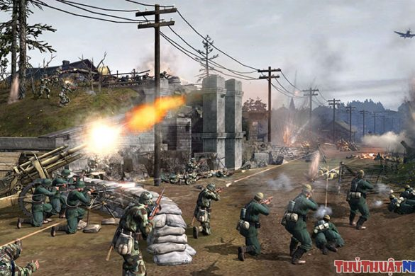 game chien thuat hay Company of heroes 2