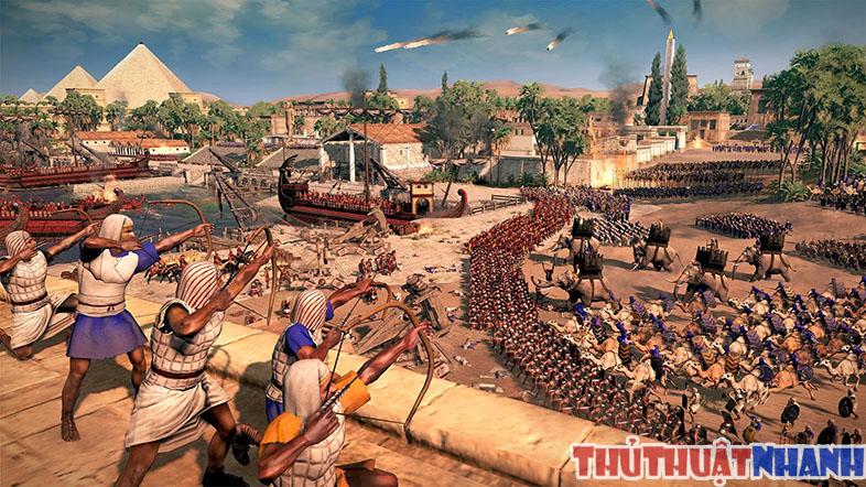 game dan tran offline hay total war rome 2