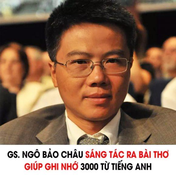 GS Ngo Bao Chau sang tac bai tho giup ghi nho 3000 tu Tieng Anh