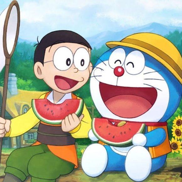 hinh anh doremon va Nobita dep