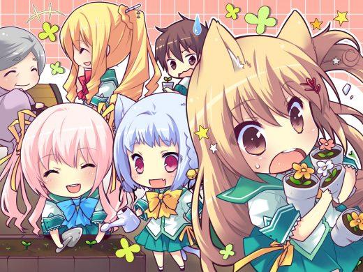 Hình anime chibi đẹp tuyệt cú mèo