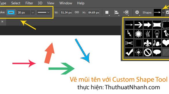 ve mui ten trong photoshop