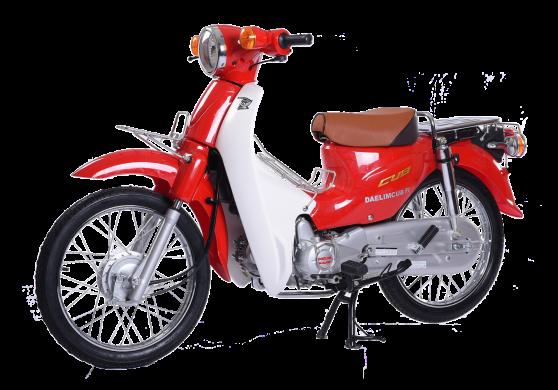 xe Super Cub 50cc đỏ