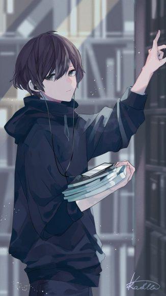 anh anime trai dep lanh lung