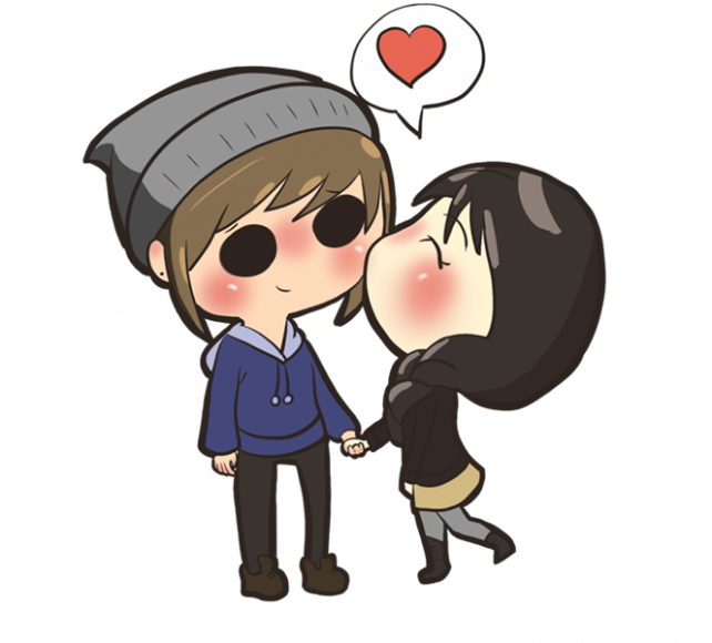 anh avatar doi chibi cute de thuong