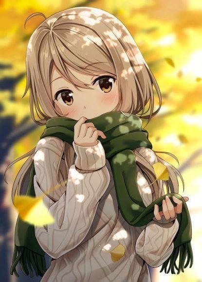 hinh anh anime girl de thuong