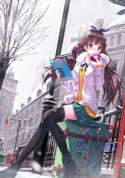 hinh anh girl anime de thuong dang yeu